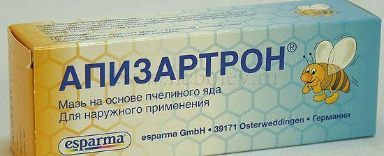 Апизартрон – согревающая мазь на основе пчелиного яда