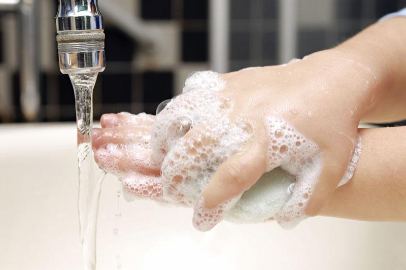 Важно перед едой тщательно вымыть руки