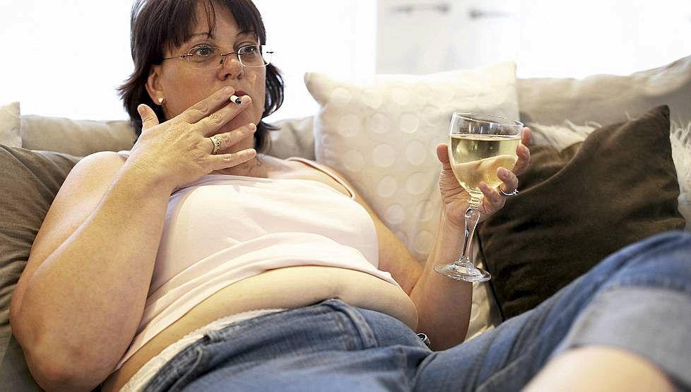 Вредные привычки и лишний вес могут привести к инфаркту