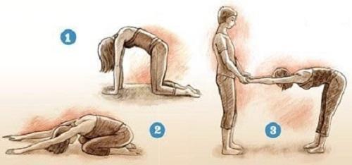 Йога лечит сколиоз
