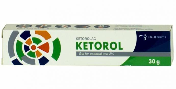 Кеторол гель 2% 30г.