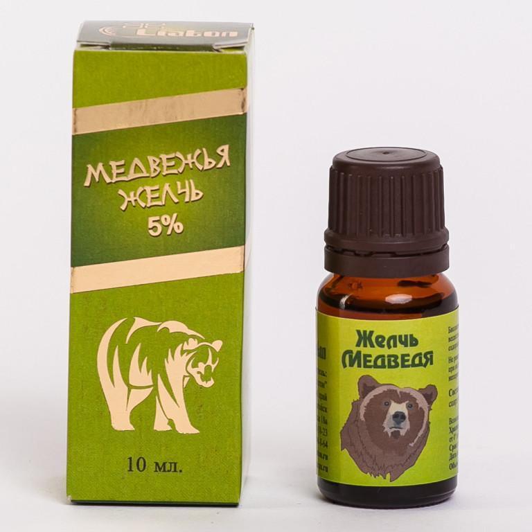 Как приготовить настойку медвежьей желчи
