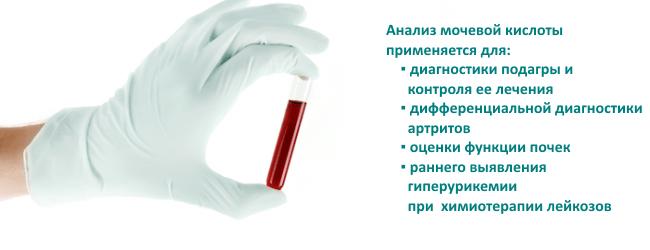 Почему повышена мочевая кислота в крови у женщины