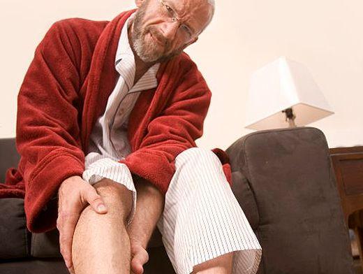 Мужчины чаще страдают подагрой
