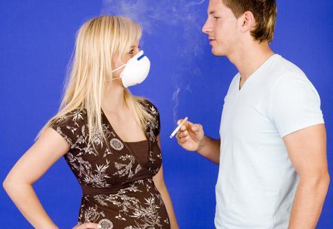 Опасности пассивного курения для беременной женщины