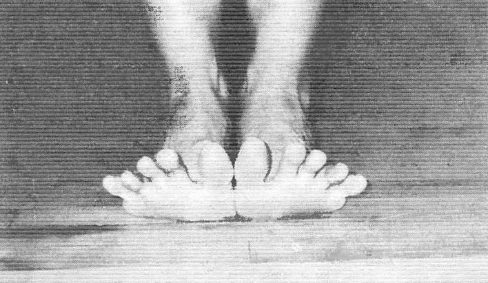 Поднимаем пальцы ног