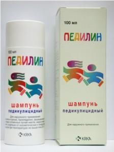 Педиллин (выпускается в виде эмульсии и шампуня)