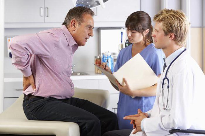 Проявление симптомов при долгом пребывании в статическом положении