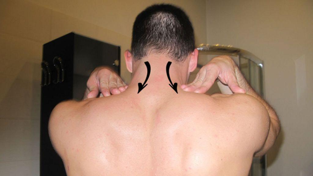 Самомассаж шеи при остеохондрозе