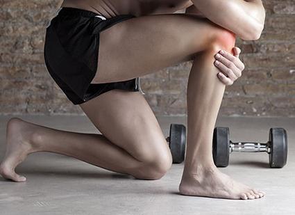Сильная боль может быть симптомом разрыва мениска