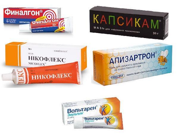 Согревающие мази, помогающие при лечении остеохондроза