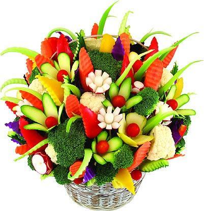 Употребляем фруктовые и овощные блюда