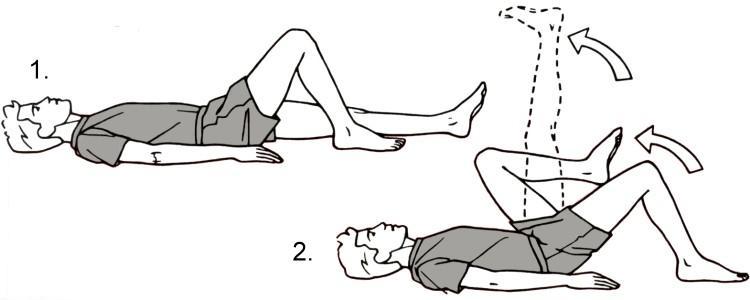 Упражнение для колен