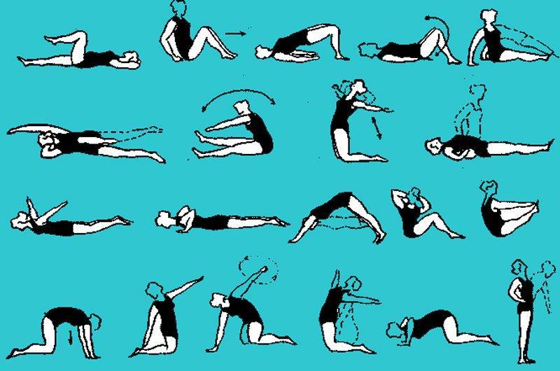 Упражнения по лечебной гимнастике