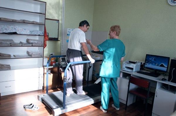 Физическая реабилитация больных инфарктом