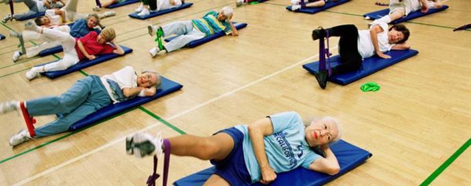 Фитнес для профилактики остеопороза