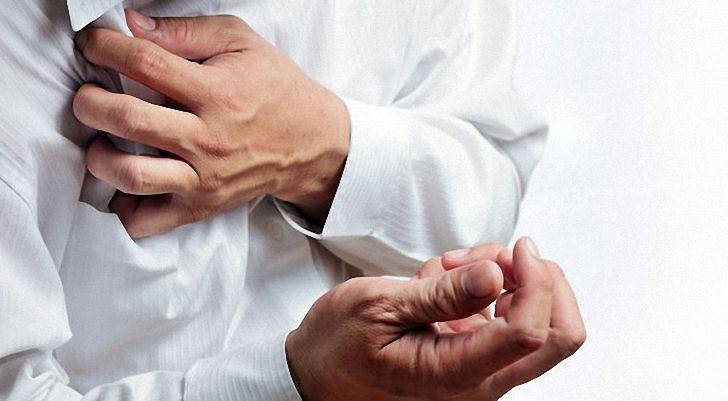 Боли в груди при стенокардии