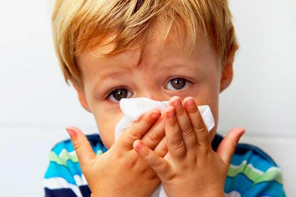 Вазомоторный ринит у детей