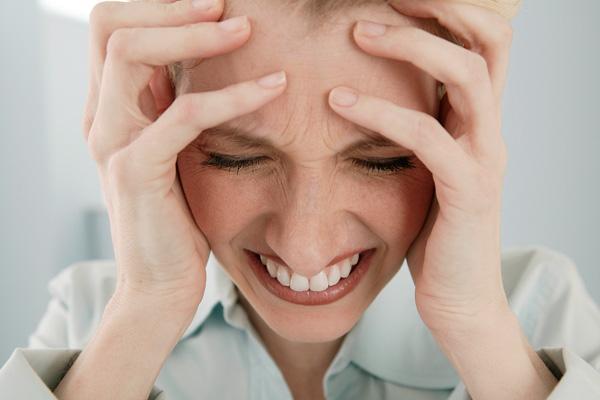 Внешние проявления нервного истощения