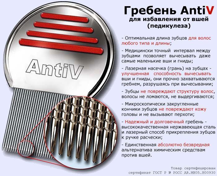 Гребень AntiV