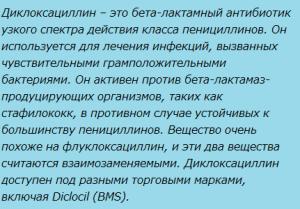 Диклоксациллин