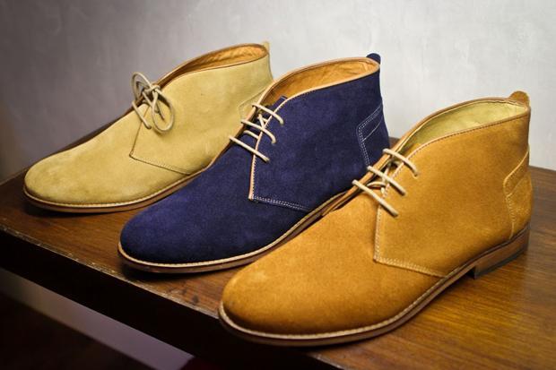 Замшевая обувь - фото