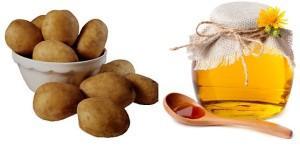 Картофель и мед