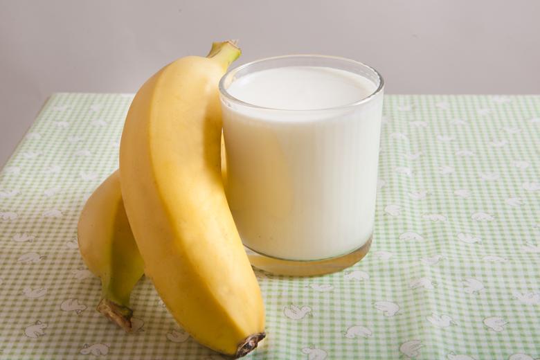Кефир и бананы
