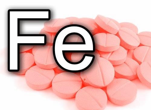 Лекарства при дефиците железа