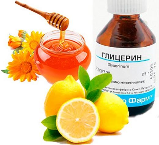 Лимон с глицерином