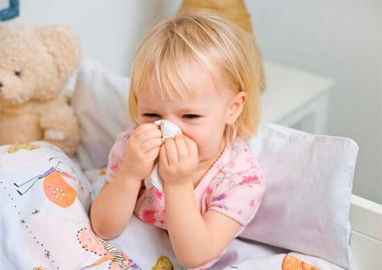 Насморк у детей - явление распространенное