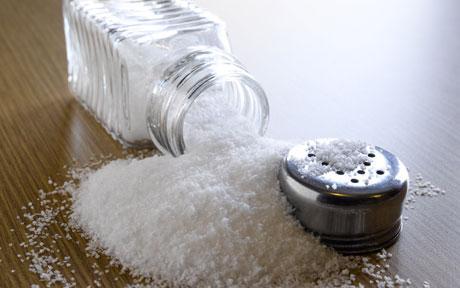 Ограничиваем потребление соли