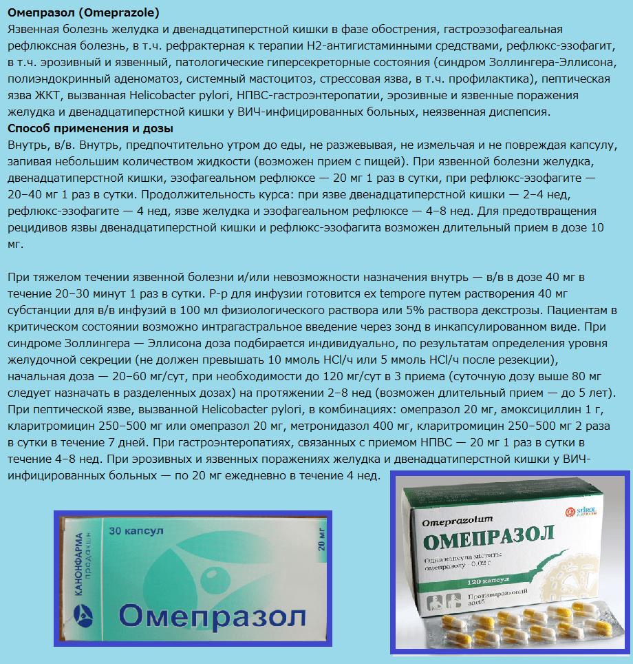 Омепразол (Omeprazole)