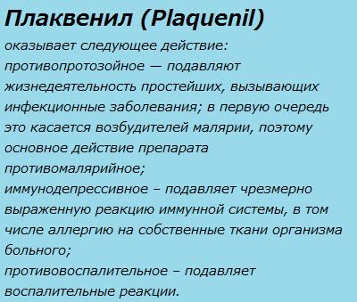 Плаквенил (Plaquenil)