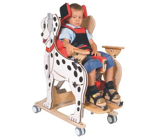 Реабилитационный вертикализатор с функцией кресла и кушетки