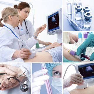 Сдача медицинских анализов пациенткой