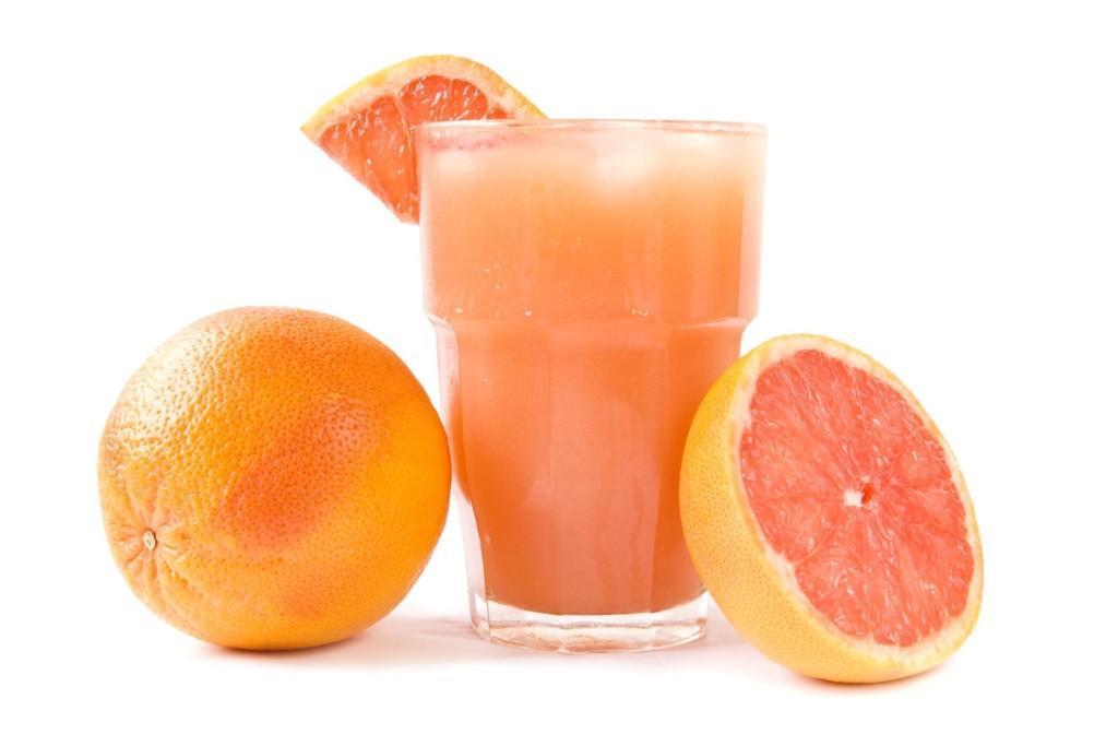 Сок из грейпфрута и апельсина