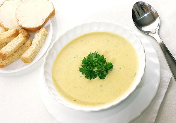 Суп –пюре при боле в горле