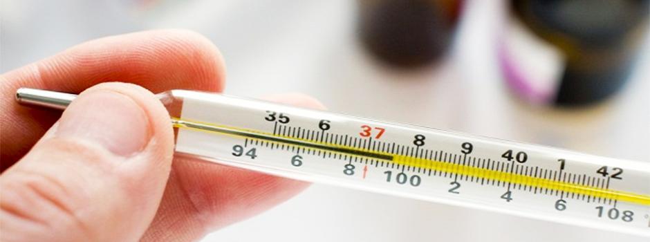 Температура повышенная или пониженная