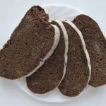 Хлеб из ржаной и пшеничной муки, изделия из несдобного теста