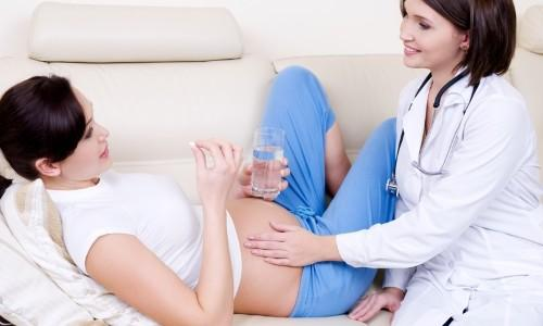 Чем лечить горло при беременности подскажет врач