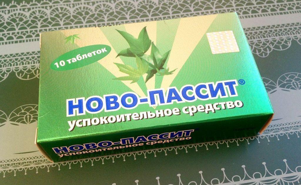 Седативное средство TeVa Ново-пассит, таблетки