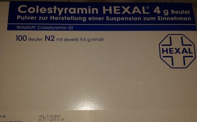 Холестирамин