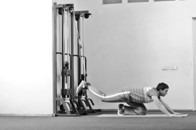 Исходное положение для упражнения