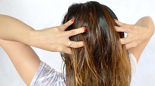 Волосы могут стать чуть светлее