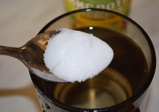 Уксус и соль