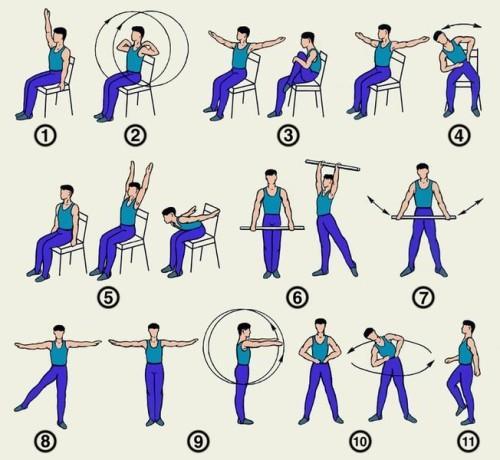 Комплекс упражнений при вегето-сосудистой дистонии