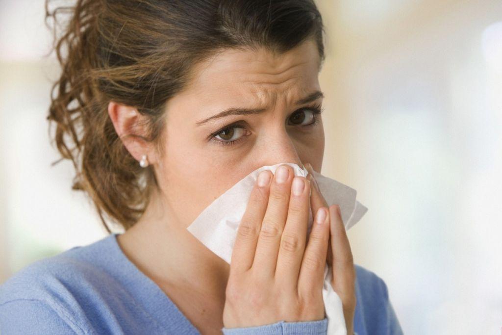 Обычный насморк проходит в течение 5-8 дней