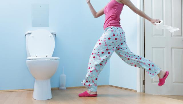 Беременная часто ходишь в туалет
