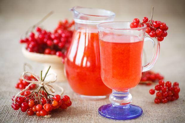 Калиновый чай для чистки сосудов